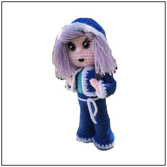 Tuto PDF mimi la lyceenne au crochet  chez Makerist - Image 1