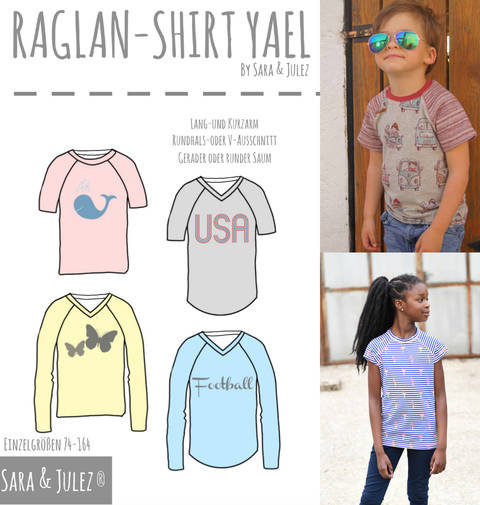 RAGLAN-SHIRT YAEL bei Makerist