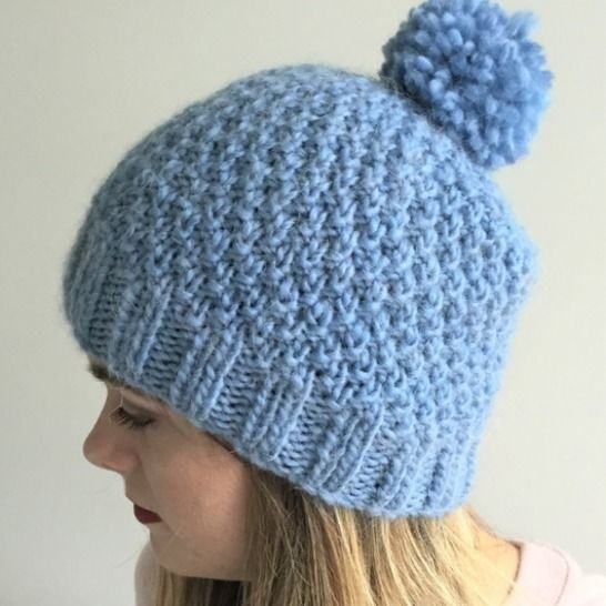 Hat - PDF Knitting pattern - 2yrs to large adult - GLACIER at Makerist - Image 1
