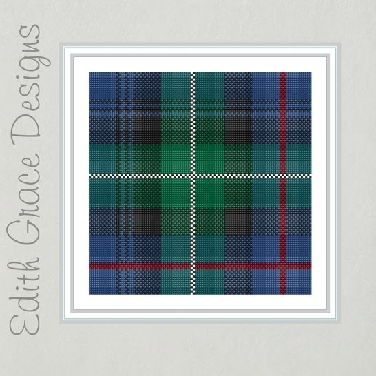 McKenzie Tartan Needlepoint Pattern  at Makerist - Image 1