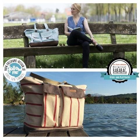 eBook BABABAG - Luxury Beach Bag - Schnittmuster & Anleitung bei Makerist