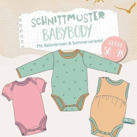 Lybstes. Babybody E-Book Gr. 50 - 98 bei Makerist
