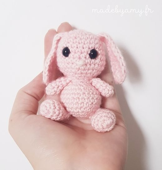 Tutoriel Lapin de printemps 🌸🐰 - Cat's Créa Crochet | 546x520