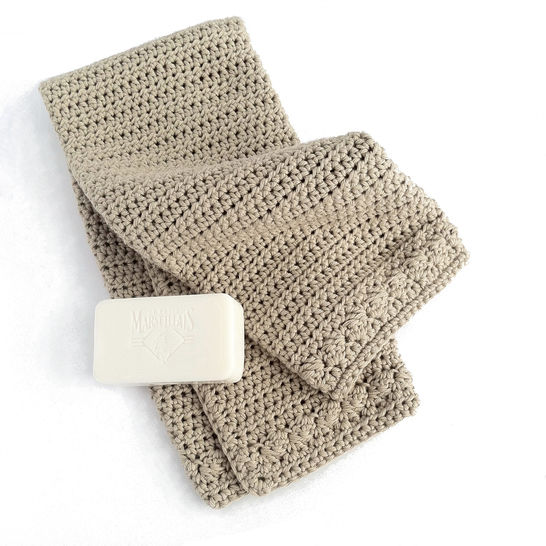 Hand Towel Crochet Pattern at Makerist - Image 1