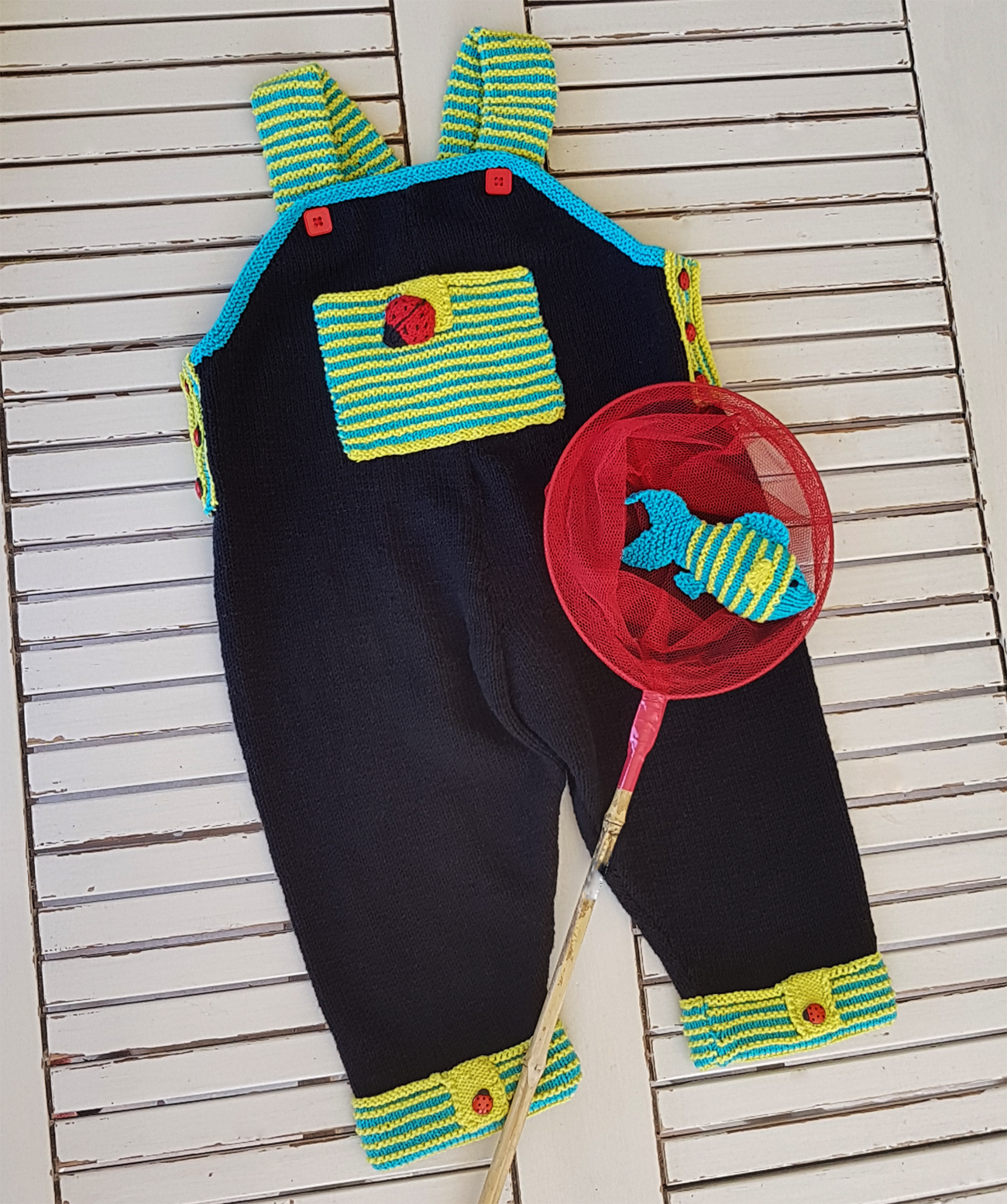 Let's Play Dungaree with Fish  (6 to 24 months)
