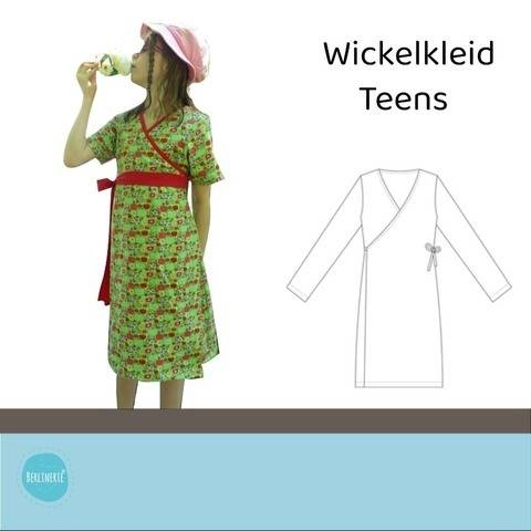 Ebook Wickelkleid Berlinerie Teens Gr. 128-170