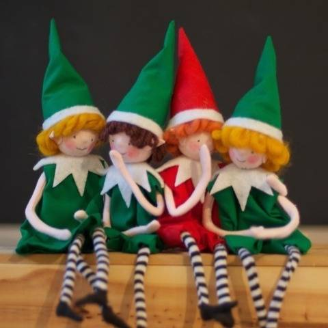 Christmas Elf sewing pattern, pixie