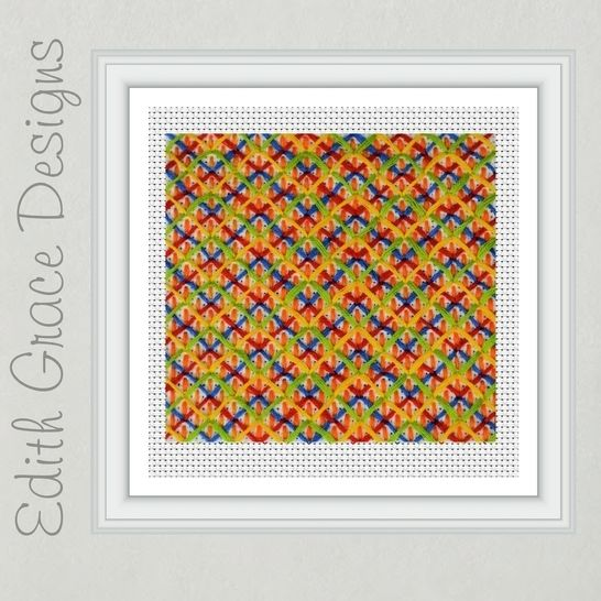 Geometric Needlepoint Pattern at Makerist - Image 1