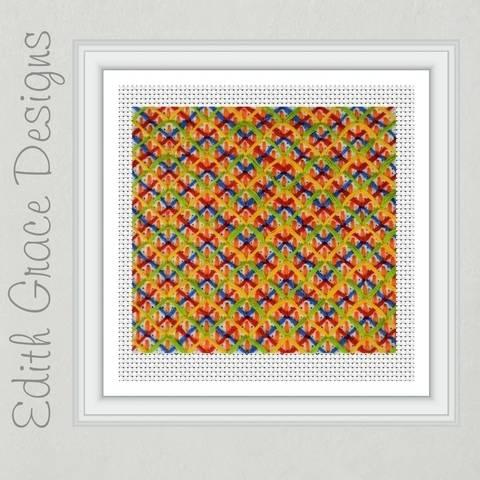 Geometric Needlepoint Pattern at Makerist