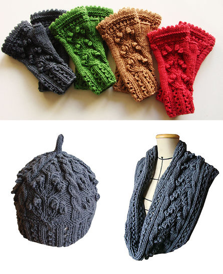 Eireen Ebook - hat, snood and mittens - written tutorial with photos and grids at Makerist - Image 1