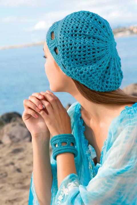 Domino Stricken - Socken, Stirnband, Tasche, Mütze, Armband
