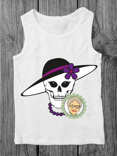 Cutting file Skallita -  multicolor cool skull plot file, especially for women and teens - with manual at Makerist - Image 1