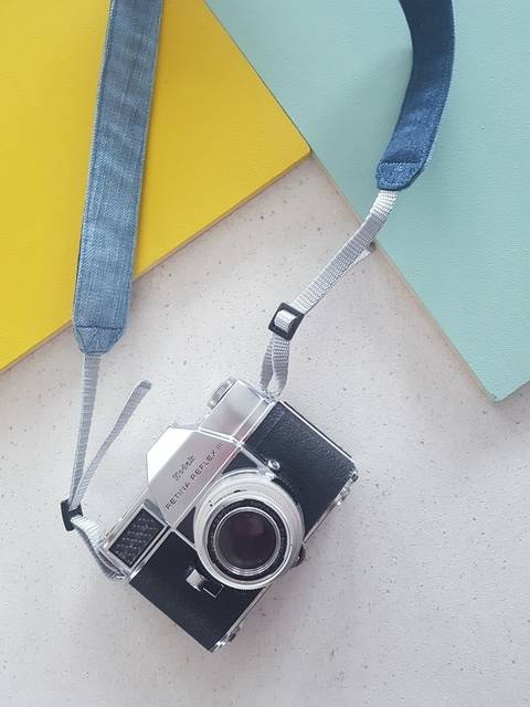 Denim Camera Strap at Makerist