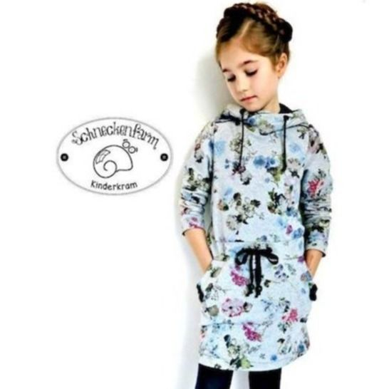 EBOOK DRESS CARLI KIDS SEWING PATTERN bei Makerist - Bild 1
