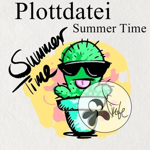 "Plottdatei Tintenrebell ""Summer Time"""