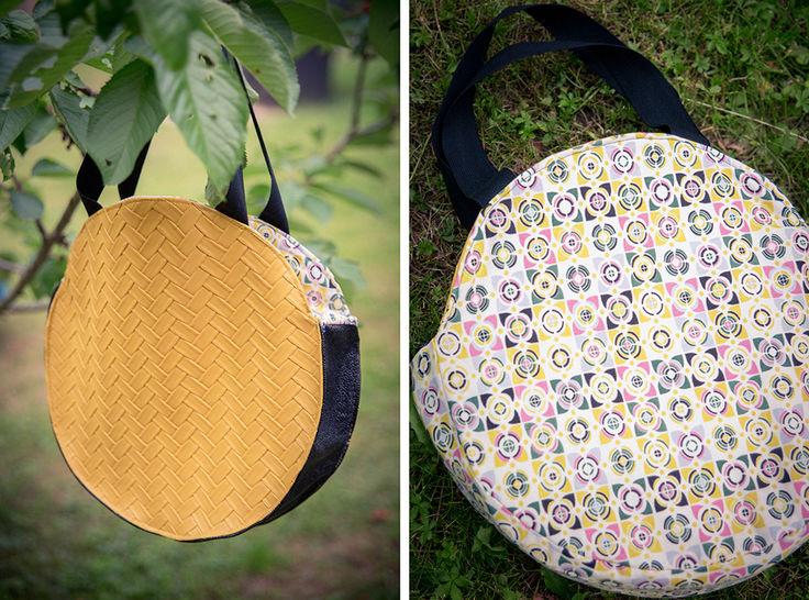 le sac cabas rond réversible chez Makerist - Image 1