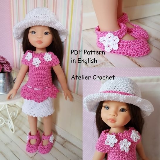 """Cyrielle"" crochet pattern for Paola Reina at Makerist - Image 1"