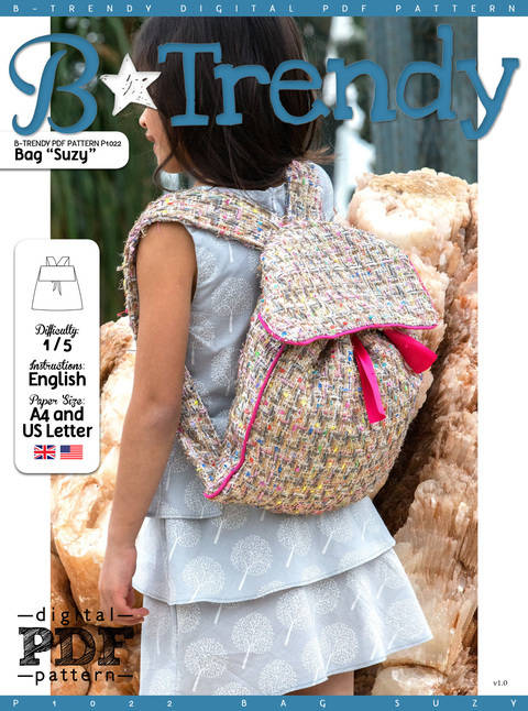 Bag SUZY PDF Pattern + Tutorial