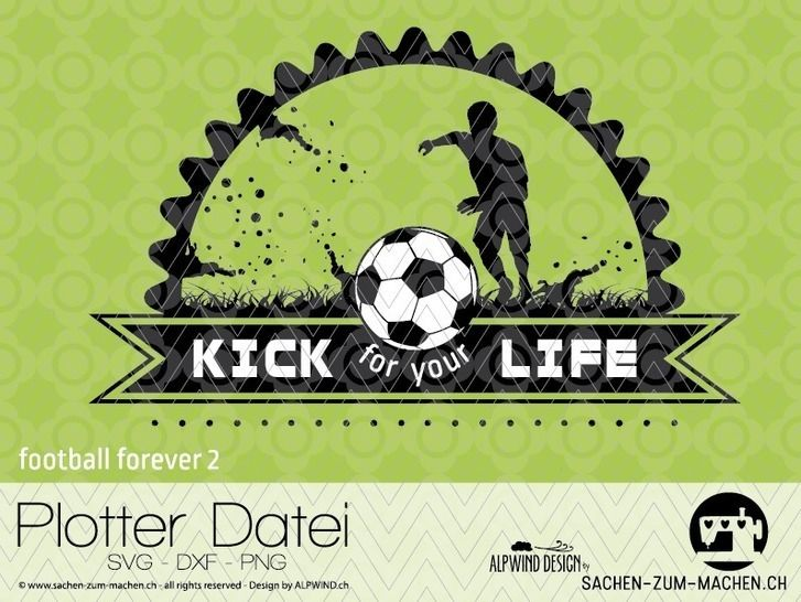 """cutting file """"football forever #2"""" - ALPWIND ® at Makerist - Image 1"""