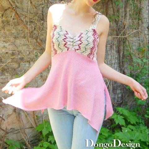 PDF Sewing Pattern Ebook Top Palma with instructions