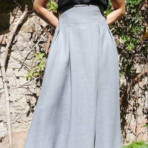 PDF sewing pattern E-Book high waist skirt Daniela