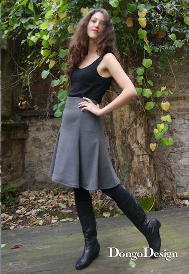 PDF sewing pattern E-Book skirt Eva with instructions at Makerist - Image 1