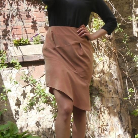 PDF sewing pattern E-Book skirt Stefanie with instructions at Makerist - Image 1