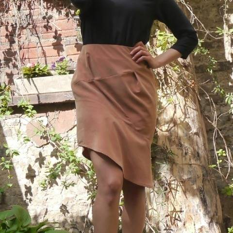 PDF sewing pattern E-Book skirt Stefanie with instructions
