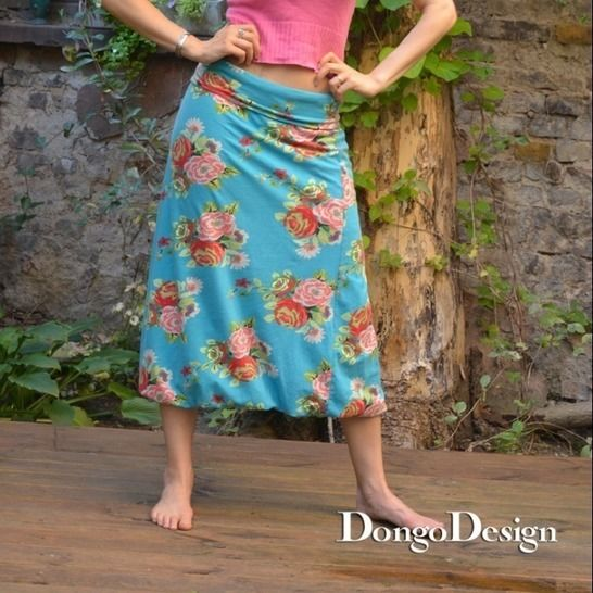 PDF sewing pattern E-Book Baloon-skirt Thea at Makerist - Image 1