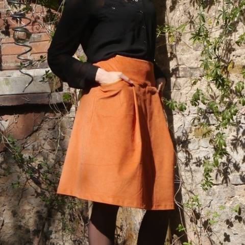 PDF sewing pattern E-Book Skirt Anne with instructions