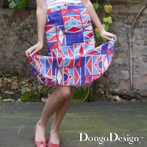 PDF sewing pattern E-Book Spring with instructions