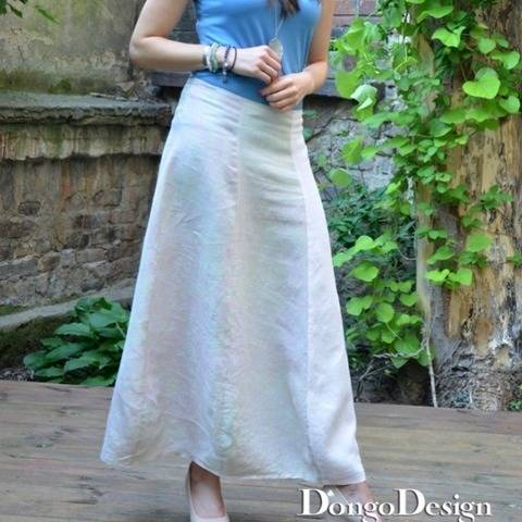 PDF sewing pattern E-Book Skirt Layering with instructions