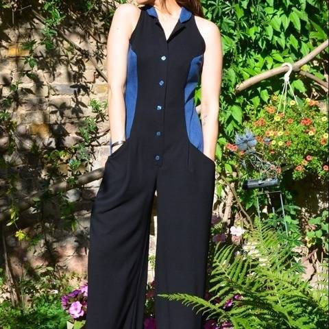 PDF sewing pattern E-Book Jumpsuit Jenny with instructions