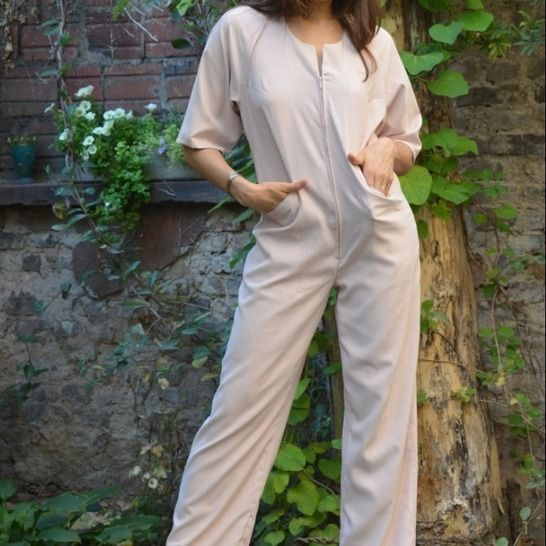 PDF sewing pattern E-Book Jumpsuit Nicole with instructions at Makerist - Image 1
