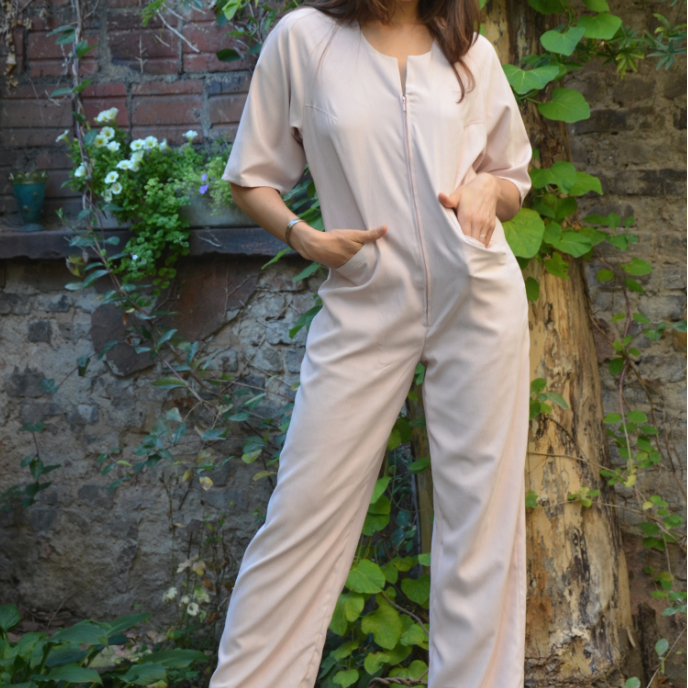 PDF sewing pattern E-Book Jumpsuit Nicole with instructions