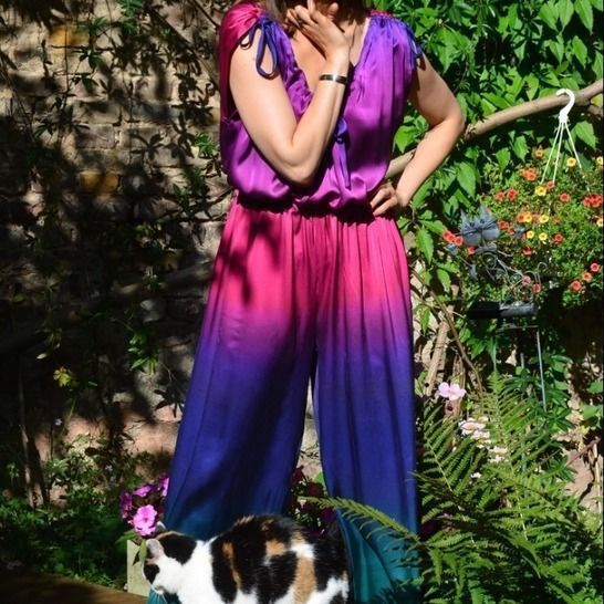 PDF sewing pattern E-Book Jumpsuit Kim with instructions at Makerist - Image 1