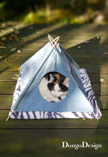 PDF sewing pattern Pets-Tipi PDF File with E-Book Sewing instructions at Makerist - Image 1