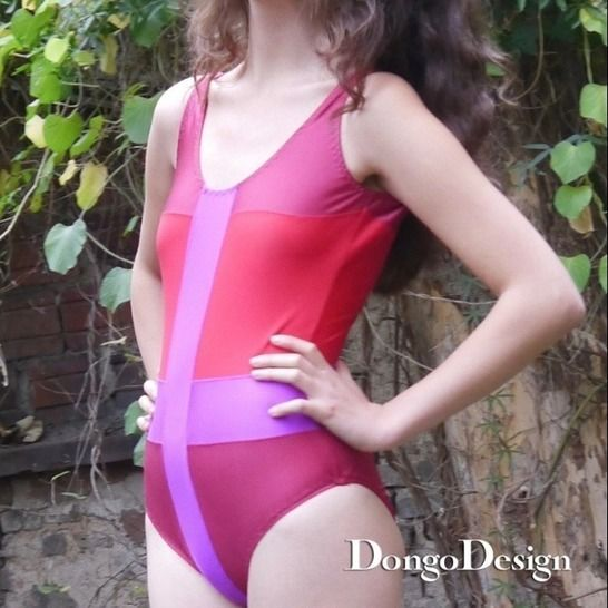 PDF sewing pattern E-Book Swimsuit Behind the Enemy Lines   at Makerist - Image 1