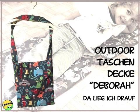 """Outdoor - Taschen - Decke """"Deborah"""" bei Makerist"""