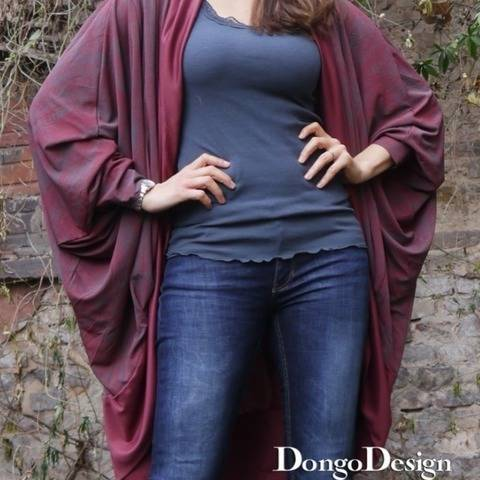 PDF sewing pattern E-Book Jersey-jacket Bozen