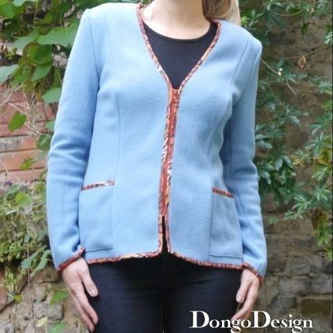 PDF sewing pattern E-Book Lisa with Sewing instructions