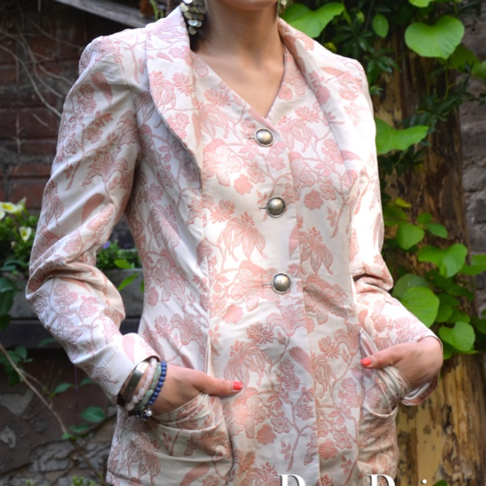 PDF sewing pattern E-Book Jacket Amadea with instructions