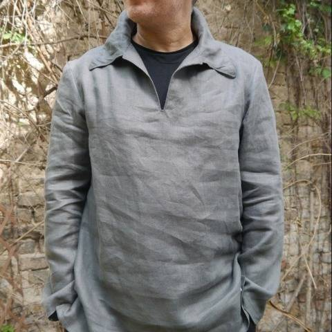 PDF sewing Pattern E-Book Men´s Shirt Zorbas
