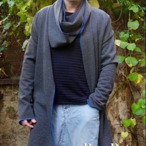 PDF sewing Pattern E-Book Men`s loop sweater Johannes