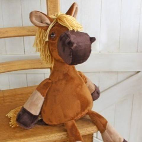 Nutty Nag Plush Horse Doll at Makerist