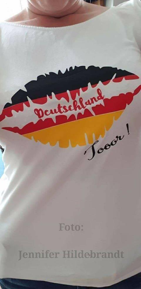 Deutschland Kussmund