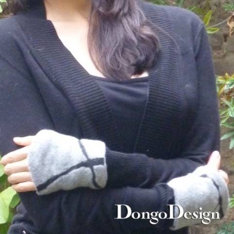 PDF sewing pattern E-Book Reversible Wrist Warmers