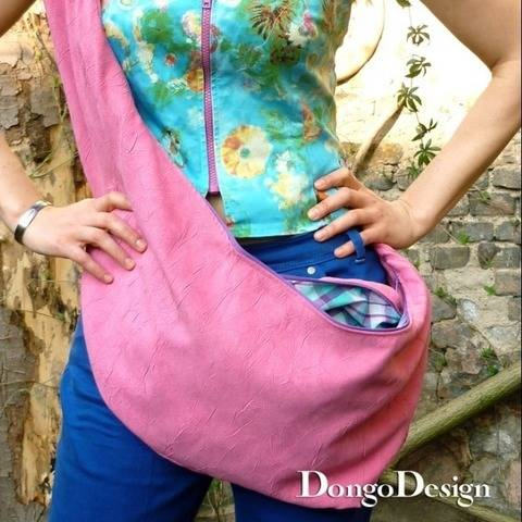 PDF sewing pattern E-Book Kangaroo Bag with instructions at Makerist