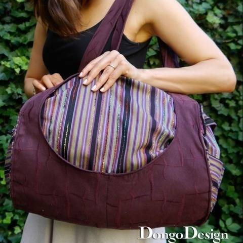 PDF Bag sewing pattern E-Book The Roll with instructions at Makerist
