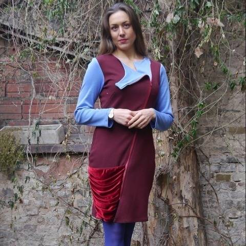 PDF sewing pattern E-Book Sabine with Sewing instructions